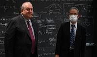 Նախագահ Սարգսյանը գիտակրթական ոլորտում փոխգործակցության հարցեր է քննարկել Ֆիզիկայի և մաթեմատիկայի Կավլի ինստիտուտի տնօրինության հետ
