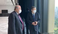 Ցանկանում եմ Հայաստանը բարձր տեխնոլոգիական երկիր տեսնել. նախագահ Սարգսյանը հանդիպում է ունեցել Mitsubishi Heavy Industries ընկերության խորհրդի նախագահի հետ