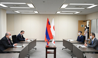 President Sarkissian discussed issues of cooperation in the field of nuclear safety with the Chairman of the Japan Nuclear Regulation Authority