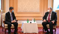 I suggest we think about tomorrow's cooperation. President Sarkissian and the President of JICA discussed the possibilities of expanding cooperation