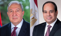 Armenia seeks to expand multifaceted cooperation with Egypt. President Sarkissian sent a congratulatory message to Abdel Fattah Al Sisi
