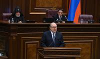 Հանրապետության նախագահ Արմեն Սարգսյանի ելույթը ութերորդ գումարման Ազգային ժողովի առաջին նիստում