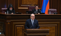 The President of the Republic Armen Sarkissian's  speech at the first session of the eighth National Assembly