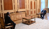 Նախագահ Արմեն Սարգսյանն ընդունել է Հայաստանում Ճապոնիայի դեսպան Ֆուկուսիմա Մասանորիին