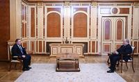 President Armen Sarkissian received the Ambassador of Georgia to Armenia