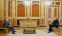 Le président Armen Sarkissian a eu une conversation téléphonique avec le Premier ministre Nikol Pashinyan