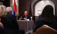 Our future is to build a strong Armenia, and for that, we must use our advantage - human resource. President Sarkissian met with the representatives of the Armenian community in Japan