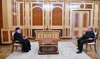 The Armenian Apostolic Church has been and remains one of the most important pillars of our national identity. President Armen Sarkissian sent a message to the Catholicos of All Armenians and Supreme Patriarch, His Holiness Karekin II