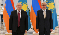 President Armen Sarkissian sent a letter of condolences to the President of Kazakhstan