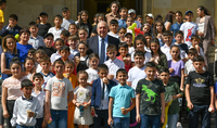 Congratulations from President Armen Sarkissian on the Knowledge and Schooling Day