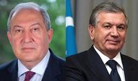 Նախագահ Արմեն Սարգսյանը շնորհավորել է Ուզբեկստանի նախագահին երկրի Անկախության 30-ամյակի առթիվ