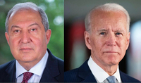 Armenia strongly condemns all forms of terrorism and oppression of human values. President Armen Sarkissian sent a message to the USA President Joseph Biden