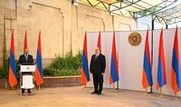 La cérémonie de serment des membres du Gouvernement de la République d'Arménie a eu lieu à la Résidence du Président