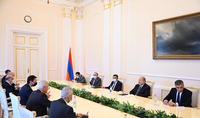President Armen Sarkissian received the delegation led by the Minister of Foreign and European Affairs of Slovakia