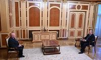 Le président Armen Sarkissian a reçu Mikhaïl Shvydkoy, Représentant spécial du Président de la Fédération de Russie pour la coopération culturelle internationale