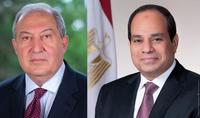 Լիահույս եմ, որ մեր բարեկամության ավանդական կապերը կշարունակեն ամրապնդվել. Հայաստանի Անկախության 30-ամյակի առթիվ  նախագահ Արմեն Սարգսյանին շնորհավորելէ Եգիպտոսի նախագահ Աբդել Ֆաթթահ Ալ Սիսին
