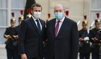 Le président de la République française Emmanuel Macron a adressé un message de félicitations au président Armen Sarkissian