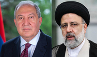 Նախագահ Արմեն Սարգսյանին Անկախության տոնի առթիվ շնորհավորել է Իրանի Իսլամական Հանրապետության նախագահ Սեյեդ Էբրահիմ Ռայիսին