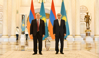With joint efforts, we can impart a new impetus to the Armenian-Kazakh cooperation. President of Kazakhstan Kassym-Jomart Tokayev congratulated President Armen Sarkissian