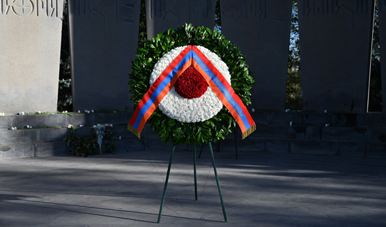 Tribute to the memory of the heroes who fell for the defense of the Fatherland