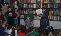 «Զմրուխտյա մկրատը». Նախագահի տիկինը՝ Նունե Սարգսյանը փոքրիկ ընթերցասերներին է ներկայացրել իր հեղինակած նոր գիրքը