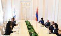 Вместе мы можем реализовать маленькие, но значимые проекты – Президент Армен Саркисян принял Генерального секретаря Международной организации франкофонии