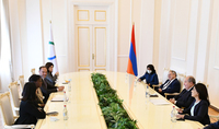 Together we can implement small but significant projects. President Armen Sarkissian received the Secretary-General of the International Organization of the Francophonie