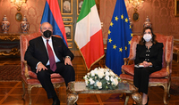 We are interested in seeing closer ties between the parliaments of the two countries. The President of the Republic Armen Sarkissian met with the President of the Italian Senate