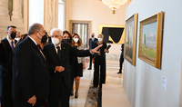 A dialogue of civilizations, cultures, peoples' inner world, and talent. Exhibition of unique works of Armenian art opens at Italian President's Quirinal Palace