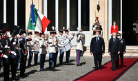 A great desire to continuously strengthen friendship. A farewell meeting of Presidents Armen Sarkissian and Sergio Mattarella took place at the Quirinal Palace
