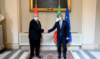 I believe in the Armenian-Italian friendship and the real potential for the development of cooperation. President Armen Sarkissian met with Roberto Fico, the President of Italy's Chamber of Deputies