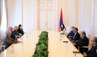 Президент Армен Саркисян принял Комиссара по правам человека Верховной Рады Украины
