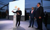 Aurora est devenue non seulement un événement significatif mais aussi une institution importante. Le Président Armen Sarkissian a assisté à la cérémonie de remise du prix Aurora sur l'île de San Lazzaro