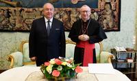 Les relations interétatiques avec le Saint-Siège se sont toujours distinguées par un dialogue de haut niveau. Le Président Armen Sarkissian a rencontré le Secrétaire d'État du Saint-Siège, Pietro Parolin