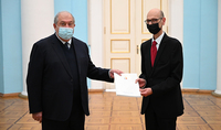 Armenia and Malta can cooperate in some areas of common interest. The newly appointed Ambassador of Malta to Armenia presented his credentials to President Sarkissian