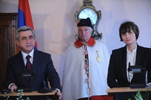 President Serzh Sargsyan's remarks at the joint press conference with the President of Switzerland Micheline Calmy-Rey