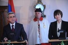 Выступление Президента Сержа Саргсяна во время совместной пресс-конференции с Президентом Швейцарии Мишелин Кльми-Рей