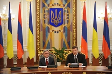 Statement by President Serzh Sargsyan at the press conference conducted during his official visit to Ukraine