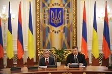Выступление Президента Сержа Саргсяна на совместной пресс-конференции в ходе визита Президента РА в Украину