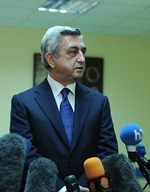 During his working visit to Gegharkunik President of Armenia responded to the questions raised by the journalists
