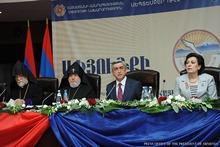 Речь Президента Сержа Саргсяна на панармянской конференции руководителей и представителей организаций Диаспоры