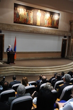Remarks by President Serzh Sargsyan at the ceremony of inauguration of the reconstructed building of Matenadaran