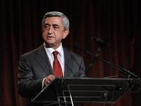 Выступление Сержа Саргсяна на торжественном приеме, организованном Посольством Армении в США, постоянным представительством РА в ООН и армянскими организациями Америки