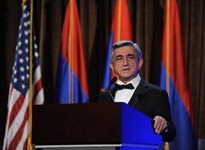 Address by the President of the Republic of Armenia Serzh Sargsyan in Los Angeles at the reception dedicated to the 20th anniversary of independence