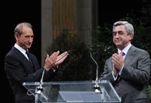 Приветственное слово Президента Сержа Саргсяна на встрече с представителями армянской общины Франции