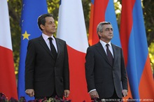 Speech by the President of Armenia Serzh Sargsyan at the ceremony of unveiling the Auguste Rodin sculpture of Jules Bastien-Lepage