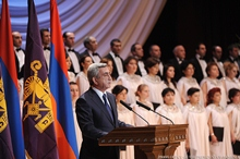 Remarks by Serzh Sargsyan, the President of the Republic of Armenia, on the Occasion of the 60th Birthday Anniversary of the Catholicos of All Armenians, His Holiness Garekin II