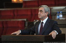 Statement by President Serzh Sargsyan at the Convention of the Armenian Union of Industrialists and Entrepreneurs