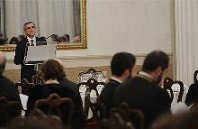 Speech by President Serzh Sargsyan at the official dinner at the Correr Museum in Venice
