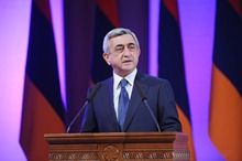 Remarks by President Serzh Sargsyan at the 9th Convention of the Volunteer Homeland Defenders Union